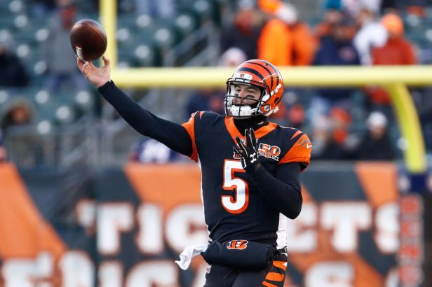 AJ McCarron Chicago Bears v Cincinnati Bengals